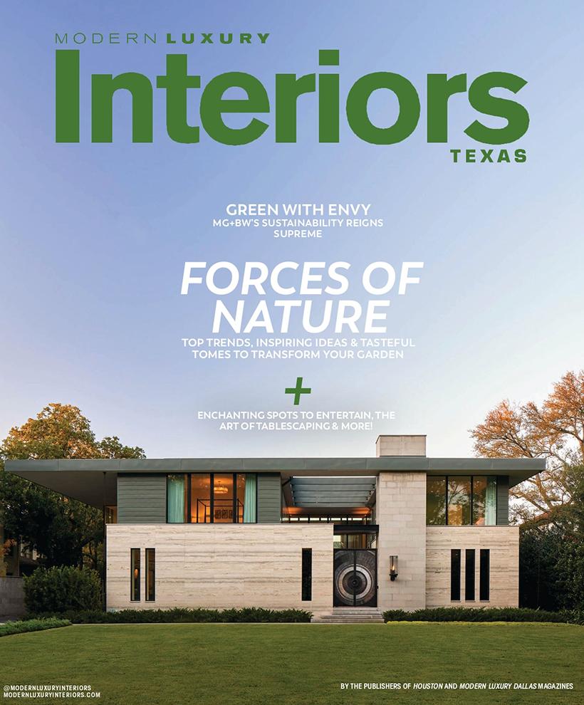 Modern Luxe Interiors April 2021